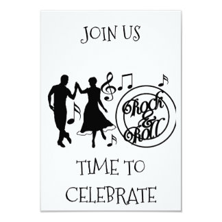 ROCK AND ROLL ALL OCCASION PARTY INVITATION