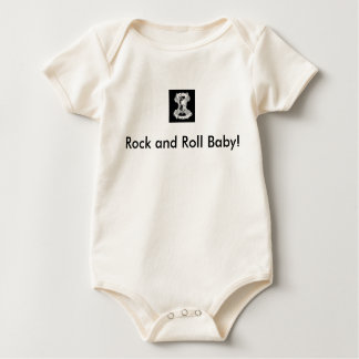 Rock and Roll Baby Baby Bodysuit