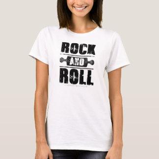 Rock And Roll Baking Shirt - Black Print