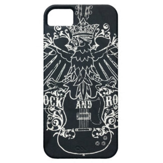 rock and roll barely there iPhone 5 case