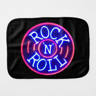 Rock and Roll Burp Cloth
