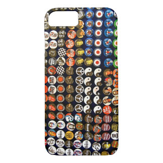 Rock and Roll Button Pins Phone case