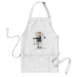 Rock and Roll Cow Apron