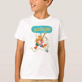 rock and roll duck w/ inspiring message t shirt