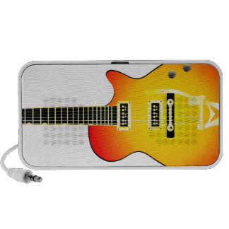 Rock and Roll - Electric Sunset Notebook Speakers