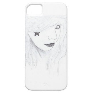 rock and roll girl iPhone 5 case