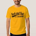 rock and roll grandpa tshirts