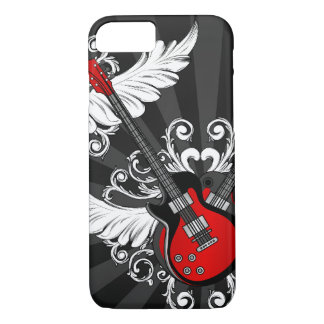Rock and Roll Guitars iPhone 7 Case