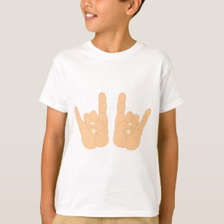 Rock and Roll Hand Sign Tee Shirt