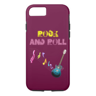 Rock and roll I phone 6 case