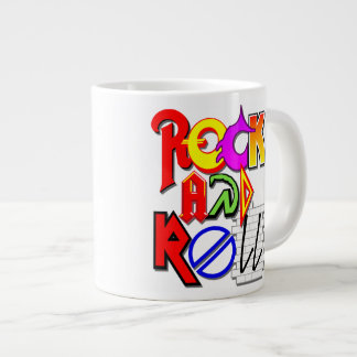 Rock and Roll Jumbo Mug