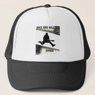 Rock and Roll Junkie Trucker Hat