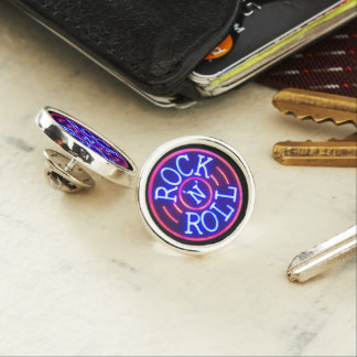 Rock and Roll Lapel Pin