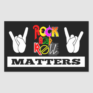 Rock and Roll Matters Sticker