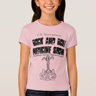 Rock and Roll Medicine Show kid's baby doll tee