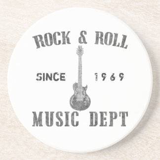 Rock and Roll Music Department Coaster