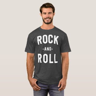 Rock and Roll music fan T-Shirt