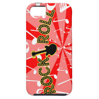 Rock And Roll Noise iPhone 5 Cases