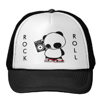 Rock and Roll Panda Cap