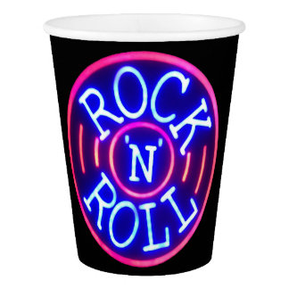 Rock and Roll Paper Cup