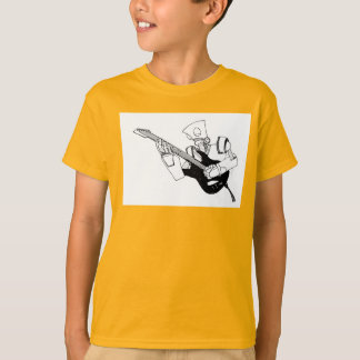 rock and roll robot tee shirts