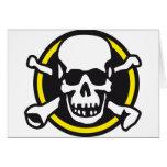 rock and roll skull karten