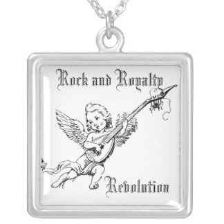 ROCK AND ROYALTY REVOLUTION CUSTOMIZABLE NECKLACE