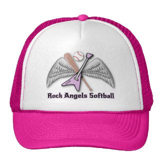 Rock Angels Softball Hat