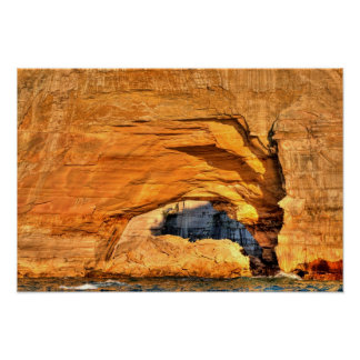 Rock Arch, Pictured Rocks National Lakeshore, MI Poster