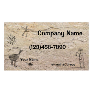 Rock Art Double-Sided Standard Business Cards (Pack Of 100)