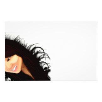 Rock Asian (Midori's portrait) Flyer Design