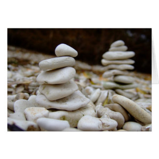 Rock Balancing Card