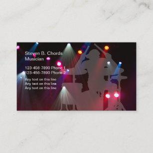 Rock band business cards zazzle au rock band business cards colourmoves