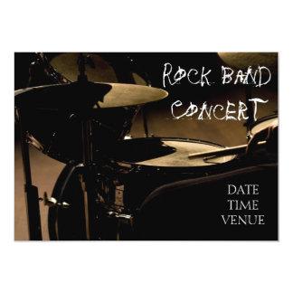 Rock Band concert performance Card