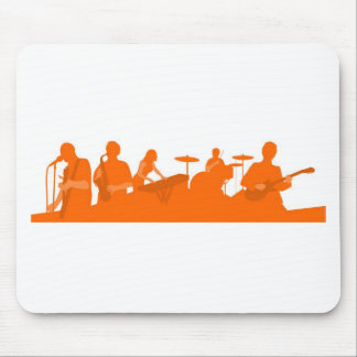 Rock Band Mouse Pad