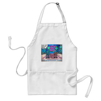 Rock Bands On Other Planets Funny Gifts & Tees Standard Apron