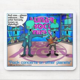 Rock Bands On Other Planets Funny Gifts & Tees Mouse Pad