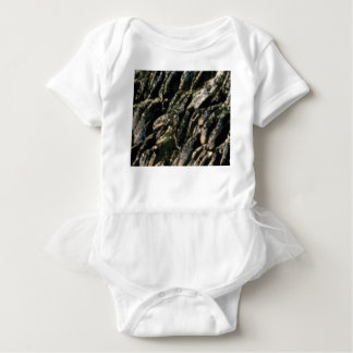 rock bends texture baby bodysuit