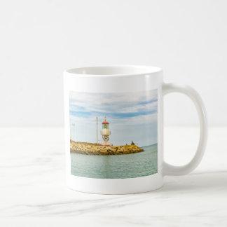 Rock Breakwater Salinas Ecuador Coffee Mug