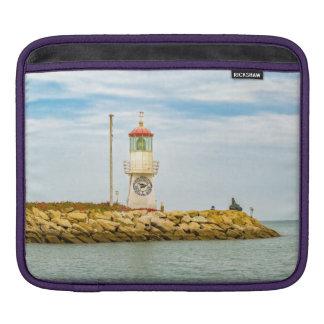 Rock Breakwater Salinas Ecuador iPad Sleeve