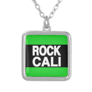 Rock Cali Long Green Personalized Necklace