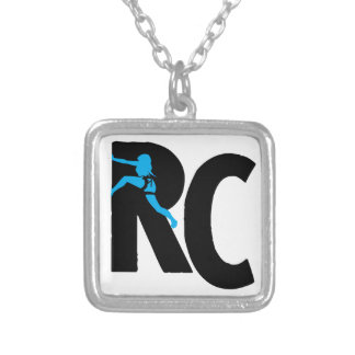 Rock Chicks Designs: The Climber Gal's Gear Square Pendant Necklace