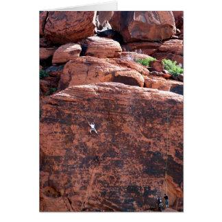 Rock Climber Birthday Card