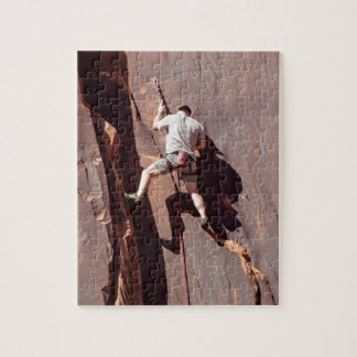 Rock Climber Jigsaw Puzzle