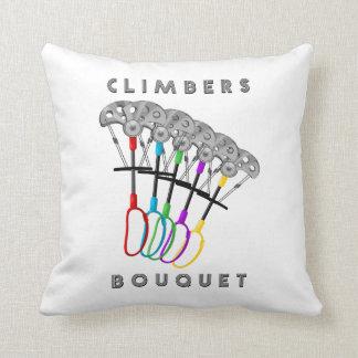 Rock Climbers Bouquet Cushion