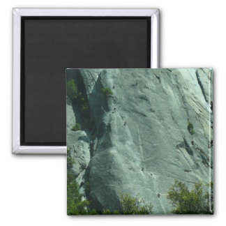 Rock Climbers on El Capitan Magnet