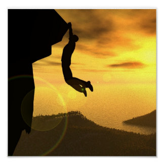 Rock Climbing Canvas Print