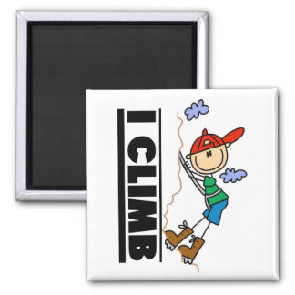 Rock Climbing Tshirts and Gifts Square Magnet