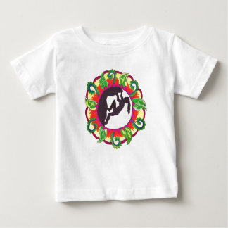 Rock Climbing Zen Girl Baby T-Shirt