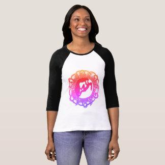 Rock Climbing Zen Girl T-Shirt
